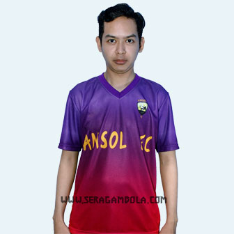 Jersey Bola Printing Tim Amsol FC